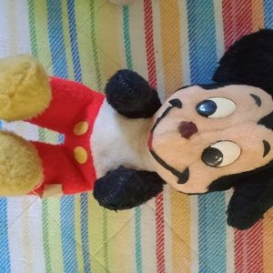 VTG Mickey Mouse doll plush toy
